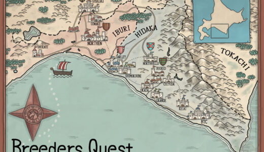 「ファンタジー世界の地図を描く」を読んで実際の世界の地図を描いてみた